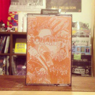 【中古】 QUAINTY 『s/t』 (USED TAPE/JPN/ HARDCORE)