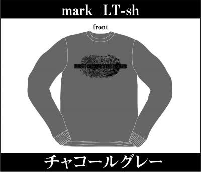 RISE FROM THE DEAD 『Mark Long Sleeve T-Shirts [チャコールグレー]』 (TEE/JPN)
