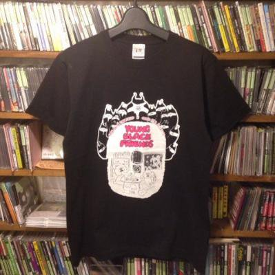 RISE FROM THE DEAD × neco眠る 『YOUNG BLACK FRIENDS T-Shirts [ブラック]』 (TEE/JPN)