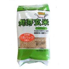 ファインフーズ 発芽玄米・特別栽培あきたこまち 120g×5