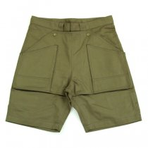 Senelier(セネリエ)PARIS 59 rivoli squater TOOLBOX SHORTS カーキグリーン