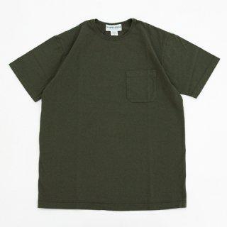 SASSAFRAS(ササフラス)CHOP CORNER POCKET T(Tシャツ)オリーブ