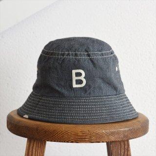 DECHO(デコー)x ANACHRONORM(アナクロノーム)BEAT INITIAL HAT STRIPE #1「B」