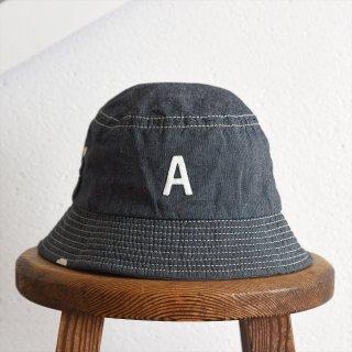 DECHO(デコー)x ANACHRONORM(アナクロノーム)BEAT INITIAL HAT STRIPE #1「A」