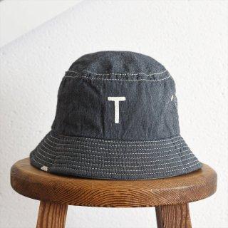 DECHO(デコー)x ANACHRONORM(アナクロノーム)BEAT INITIAL HAT STRIPE #1「T」