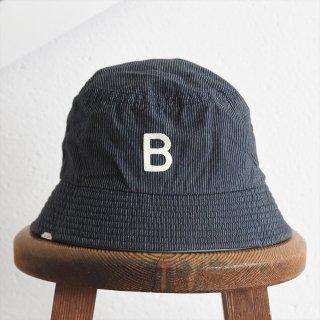 DECHO(デコー)x ANACHRONORM(アナクロノーム)BEAT INITIAL HAT STRIPE #3「B」