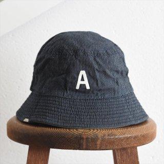 【ワケあり蚤の市30%OFF】DECHO(デコー)x ANACHRONORM(アナクロノーム)BEAT INITIAL HAT STRIPE #3「A」