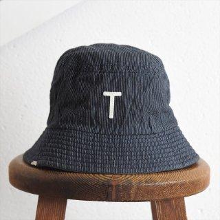 DECHO(デコー)x ANACHRONORM(アナクロノーム)BEAT INITIAL HAT STRIPE #3「T」