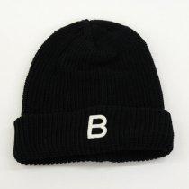 DECHO(デコー)x ANACHRONORM(アナクロノーム)BEAT INITIAL KNIT CAP ブラック「B」
