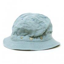 DECHO(デコー)SHALLOW KOME HAT ブルー