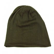 DECHO(デコー)SILK KNIT CAP カーキ