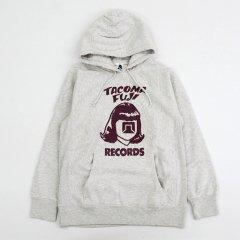 TACOMA FUJI RECORDS(タコマフジレコード)LOGO HOODIE(12oz) オートミール