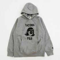 TACOMA FUJI RECORDS(タコマフジレコード)LOGO MARK HOODIE(12oz)ヘザーグレー