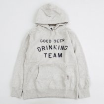 TACOMA FUJI RECORDS(タコマフジレコード)GOOD BEER DRINKING TEAM HOODIE(12oz)オートミール