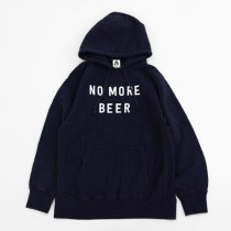 TACOMA FUJI RECORDS(タコマフジレコード)NO MORE BEER HOODIE(12oz)ネイビー