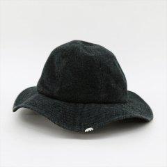 DECHO(デコー)OLD HAT ブラック(アンゴラウール)