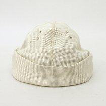 DECHO(デコー)RETRO CAP ホワイト(ワッフル)