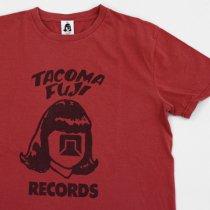 TACOMA FUJI RECORDS (タコマフジレコード)LOGO 17 バーガンディ (Tomoo Gokita)