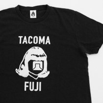 TACOMA FUJI RECORDS (タコマフジレコード)LOGO MARK 17 ブラック(Jerry Ukai & Tacoma Fuji Records)