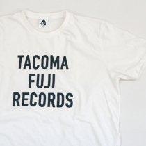 TACOMA FUJI RECORDS (タコマフジレコード)LETTER PRINT ホワイト(Jerry Ukai)