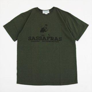 SASSAFRAS(ササフラス)SF Exterminator T(Tシャツ)オリーブ