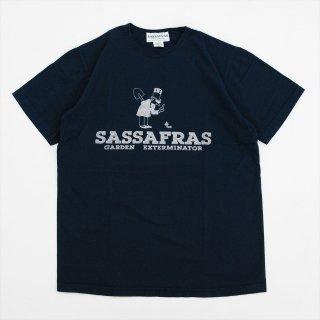 SASSAFRAS(ササフラス)SF Exterminator T(Tシャツ)ネイビー