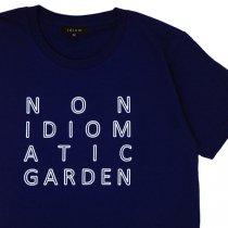 idiom(イディオム)NON IDIOMATIC GARDEN Tシャツ|月光の庭