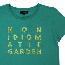 idiom(イディオム)NON IDIOMATIC GARDEN Tシャツ セラティフォリア(レディス)