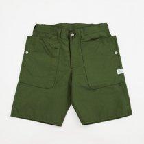 SASSAFRAS(ササフラス)Fall Leaf Pants 1/2 オリーブ(ナイロンオックス)