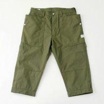 SASSAFRAS(ササフラス)Fall Leaf Gardener Pants 2/3 オリーブ(コーデュラオックス)