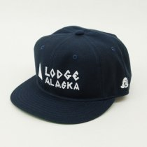 Tacoma Fuji Records(タコマフジレコード)Lodge ALASKA cap designed by Matt Leines ネイビー