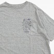 Genediction(ジェネディクション)FLOWER POWER(ワイドTシャツ)