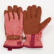 イギリスBurgon & Ball(バーゴン&ボール)グローブ Love The Glove Red Tweed