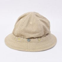 DECHO(デコー)KOME HAT -TOP DENIM- ベージュ
