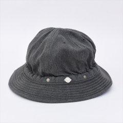 DECHO(デコー)KOME HAT -TOP DENIM- ブラック