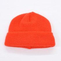 DECHO(デコー)x ANACHRONORM(アナクロノーム)KNIT CAP オレンジ(アクリル/ウール)