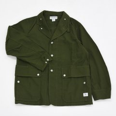 SASSAFRAS(ササフラス)Fall Leaf Jacket オリーブ(キャンバス)