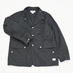SASSAFRAS(ササフラス)Fall Leaf Jacket チャコールグレー(T/Cギャバジン)
