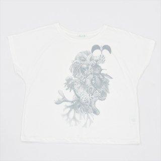 「はっぱでハッピー!」させて頂きます。vol.2 レデースドルマンTシャツ オフホワイト