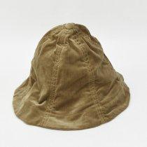 Decho(デコー)TULIP HAT ベージュ(ベルベット)
