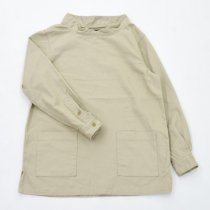 Napron Wardrobe(ナプロンワードローブ)SMOCK WORK SHIRT ベージュ