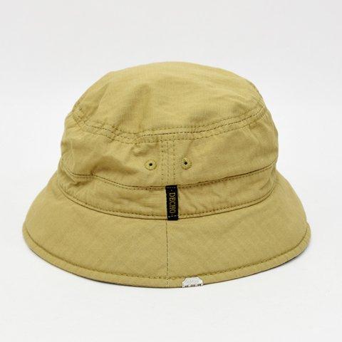 0e6e2e6b47920 DECHO(デコー)BUCKET HAT ベージュ(CORDURAリップストップ) - LIFETIME
