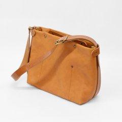 Suolo(スオーロ)Nomad Mid Leather キャメル