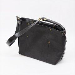 Suolo(スオーロ)Nomad Mid Leather ブラック