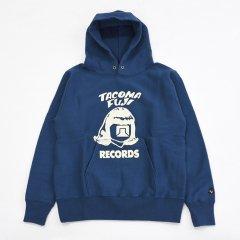 Tacoma Fuji Records(タコマフジレコード)LOGO HOODIE designed by Tomoo Gokita ネイビー