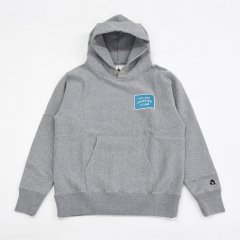 Tacoma Fuji Records(タコマフジレコード)GOOD BEER DRINKING TEAM PATCH HOODIE ヘザーグレー