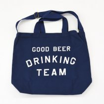 Tacoma Fuji Records(タコマフジレコード)GOOD BEER DRINKING TEAM TOTE ネイビー