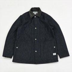 SASSAFRAS(ササフラス)Green Thumb Jacket インディゴ(8ozデニム)