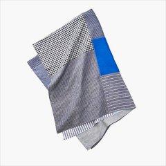 Fog linen work(フォグリネンワーク)パッチワーククロス ブルー系