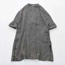 Fog linen work(フォグリネンワーク)リネンアンナコート ヘリンボーン
